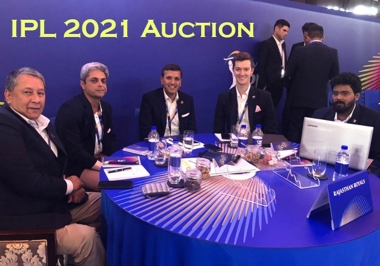 IPL 2021 Auction Full Live Show, Results, Sold and Unsold Player List