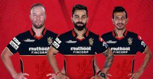 RCB new jersey IPL 2020
