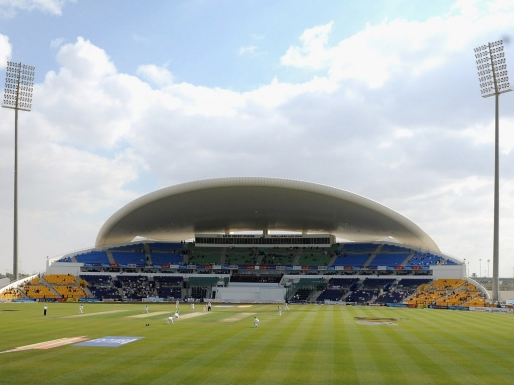 Sheikh Zayed cricket stadium UAE