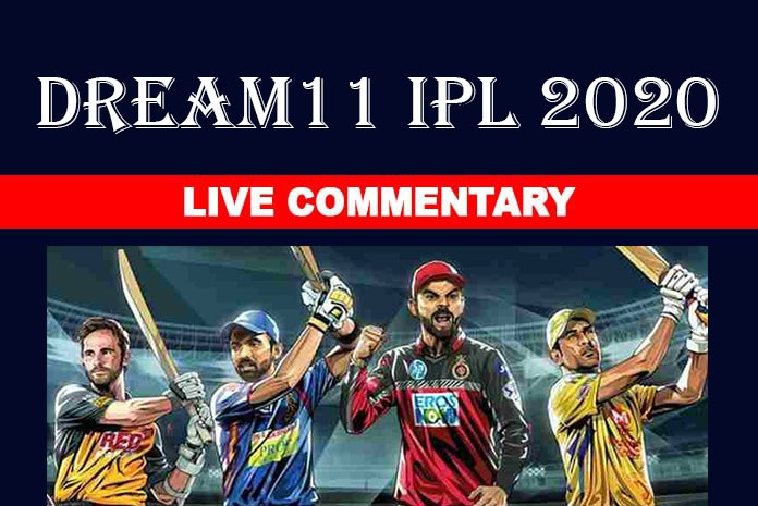 Dream11 IPL 2020 Live Commentary List
