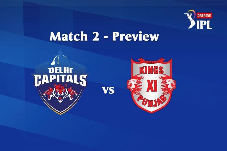 IPL 2020 : DC Vs KXIP Dream11 Team Prediction IPL About Delhi Capitals Vs Kings XI Punjab