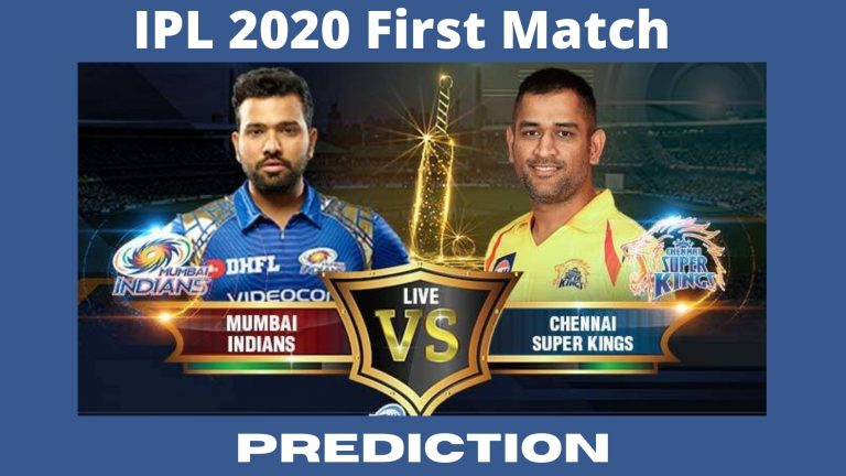 MI Vs CSK : Mumbai Indians Vs Chennai Super Kings Today's First IPL 2020 Match Dream11 Prediction