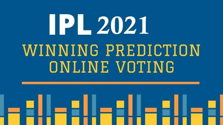 IPL 2021 Winning Prediction Online Voting , Which Team Can Win ?