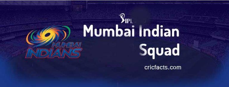 Vivo IPL 2021 Mumbai Indians Match Schedule UAE, Match List PDF, Time Table, Player List 2021