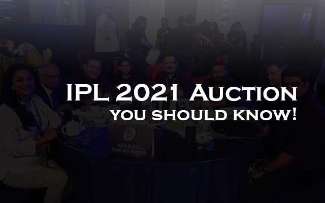 IPL 2021 Auction Date Time and Players List