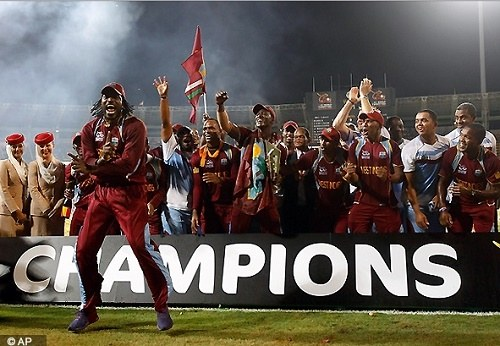 West Indies – Champions of T20 World Cup 2012