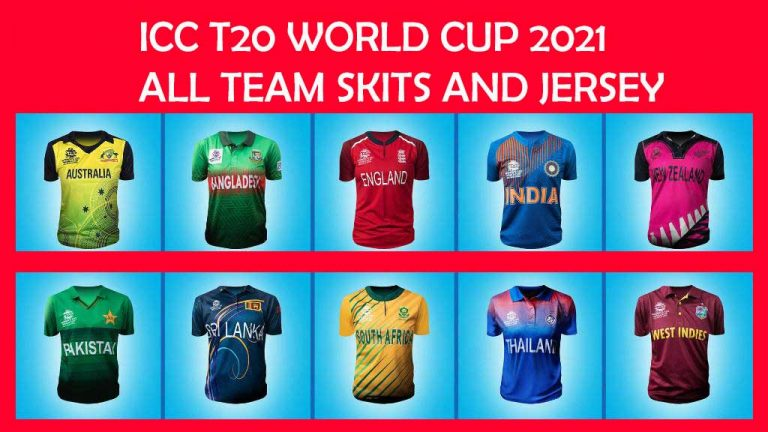ICC T20 World Cup 2021 Teams Logos, Jersey/Kits Designs, Colors, and Sponsors (Tentative)