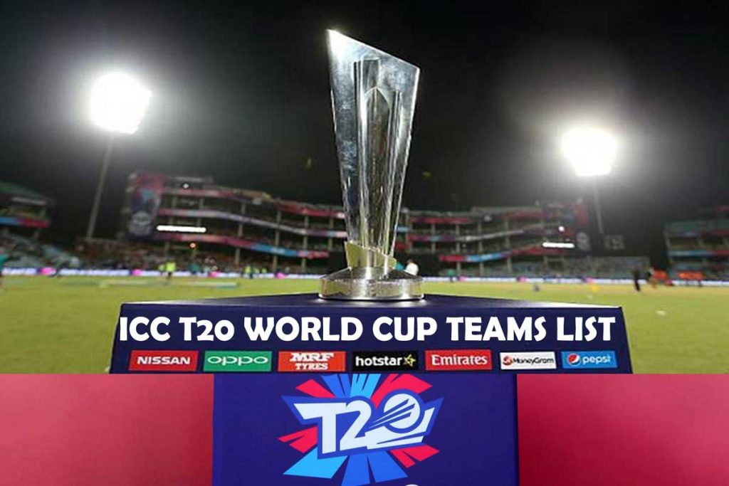 icc t20 world cup 2021 teams list and squad