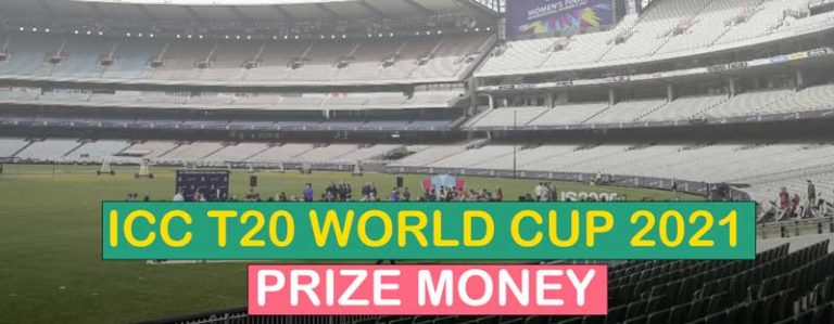 ICC T20 World Cup 2021 Prize Money