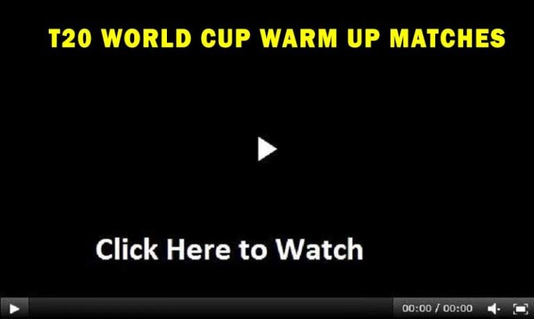 T20 World Cup 2021 Warm-Up Matches Live Score   Free Broadcasting Channels List