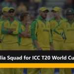 Australia Schedule Matches for ICC Men's T20 World Cup 2021