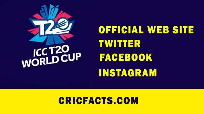 ICC T20 World Cup 2021 Official Website