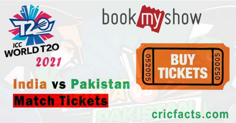 ICC T20 World Cup 2021 Tickets: India Vs Pakistan T20 World Cup 2021 Match On 24th October In Dubai