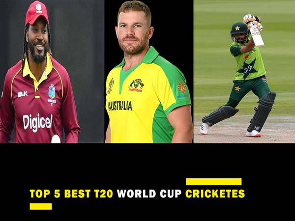 Top 5 Best Cricketers Of T20 World Cup