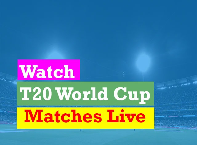 ICC T20 World Cup 2021 Today Match Live Score Ball By Ball
