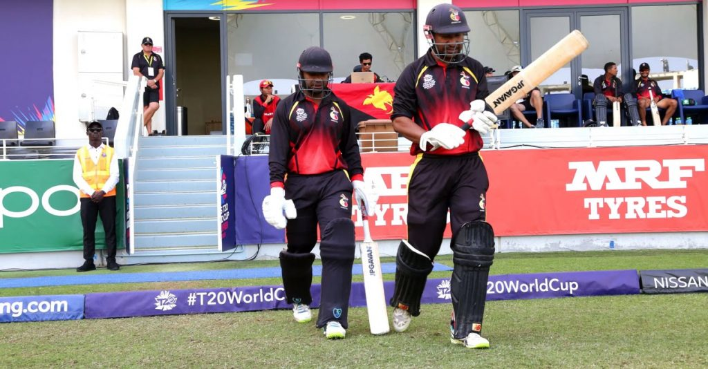Team Squad for Papua New Guinea T20 World Cup 2021