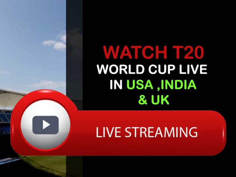 Watch the T20 World Cup 2021 live streaming in the USA, India, and Australia